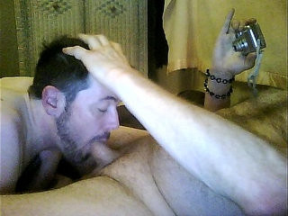 dick worshiper j loves to suck his daddy.