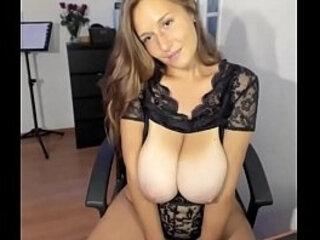 Amazing busty woman