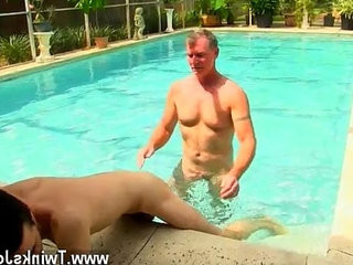 Naked studs Daddy Brett obliges of course, after sharing some oral and