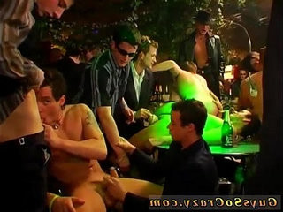 Gay private soiree tube The deals about to go down when Tony