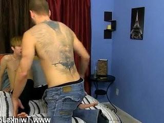 Sexy guys Preston deep throatranssexual Kylers saucy uncircumcised fuck stick before the