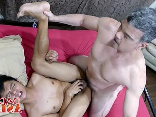 White old queer perv getranssexual his fuck fuckholes plugged by boyish gay dicks