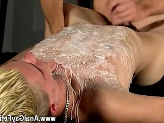 Gay movie Splashed With paraffin wax And spunk