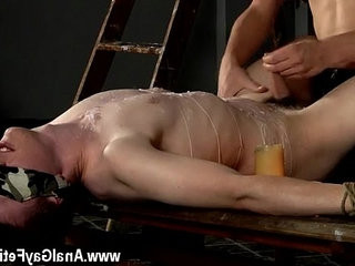 Gay porno boy gym briefs Wanked And Waxed To The Limit