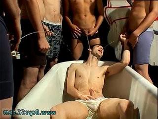 Hot gay sexy pissing xxx video Frat Piss Kaleb Scott!