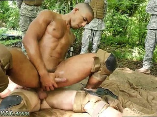 Military underwear gay porn and navy men fuck xxx Jungle drill jamboree