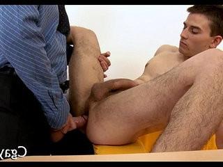 horny threesome for homolovemakingual guys