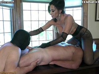 femasculine dom coerced bi-sexual and pegging with Mistress Tangent