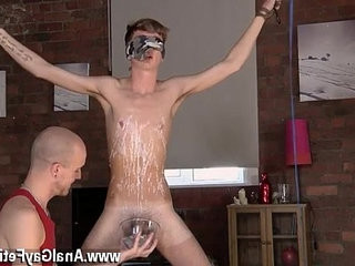Spy queer asian shower bimbo gay boy Jacob Daniels is his latest meal