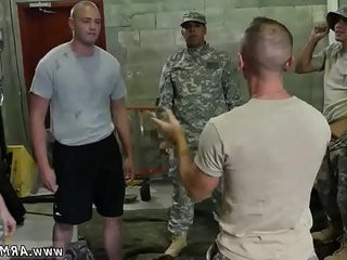 Male on military cock gay Fight Club