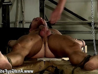 Hardcore restrain bondage fag studs movietures ass fucking Theo lays nude and