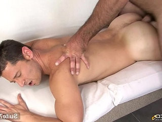 Hefty married masculine gets fucked by a gay
